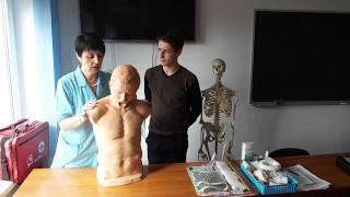 [Спасатель-медик] Помощь при попадании инородного тела в дыхательные пути
