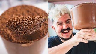 MOUSSE DE CHOCOLATE SUPER CREMOSA E FÁCIL | BIGODE NA COZINHA