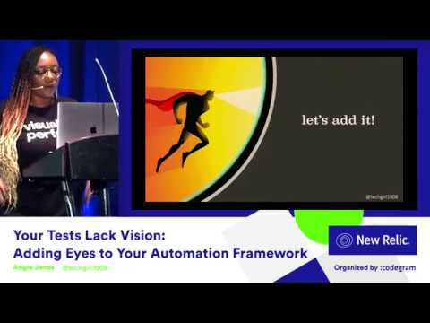 Your Tests Lack Vision: Adding Eyes to Your Automation Framework