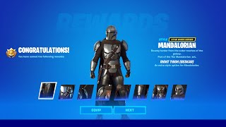 How to Unlock Mandalorian Beskar Skin Style in Fortnite Season 5 (ALL BESKAR QUESTS)