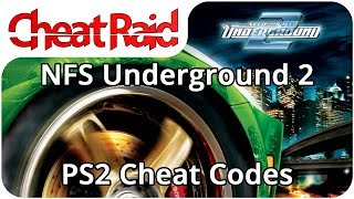 Need For Speed: Underground 2 Cheat Codes | PS2