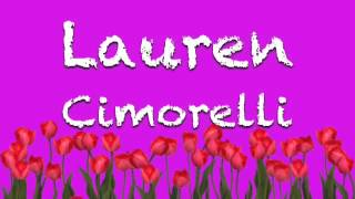 """The Way We Live"" By cimorelli faster and chipmunk"