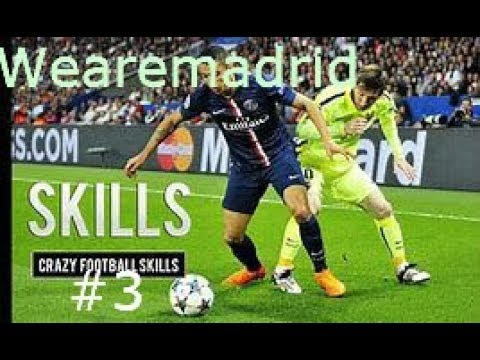 The BEST Football Skills #3 ft. Ronaldo, Neymar, Marcelo, Vinicuis and more ~ Wearemadrid