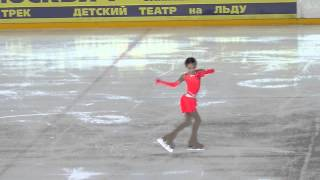 Анна Щербакова, КП, Первенство Москвы (мл.возраст) 2015