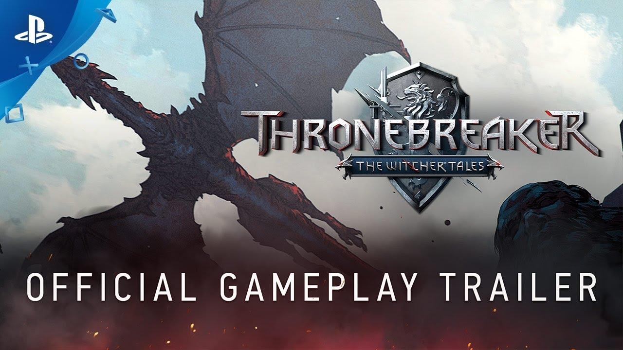 Геймплейный трейлер игры Thronebreaker: The Witcher Tales