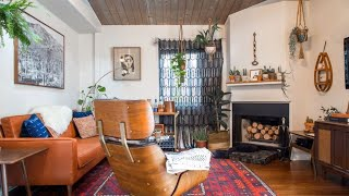 Interior Design | Tiny Home Tour: Match Of Vintage & Bohemian Style California