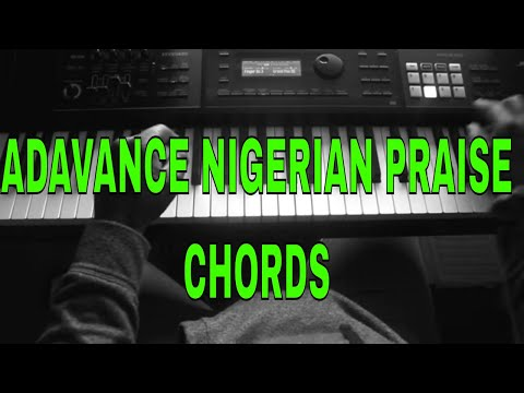 How to play Nigerian praises on piano - Cool chords and diminished substituions