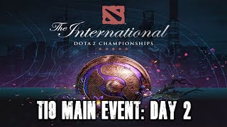 TI9 Main Event: Day 2 | The International 9 TI9 Dota 2