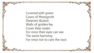 Battlelore - Thousand Caves Lyrics