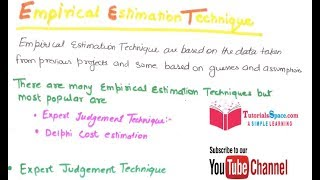 22- What Is Empirical Estimation Techniques In Software Engineering In HINDI
