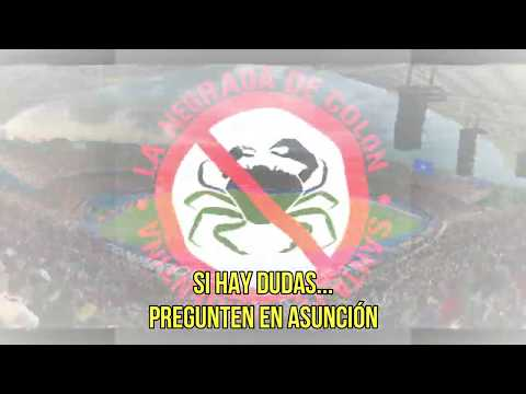 """""""Ya llega Colón"""" Barra: Los de Siempre • Club: Colón"""