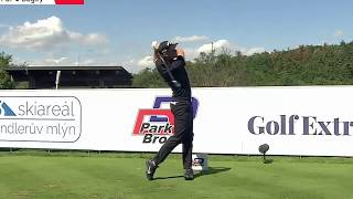 Thomas Pieters Golf Swing Slow Motion