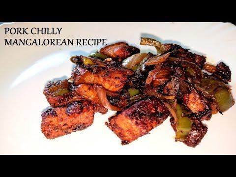 Pork Chilly Mangalorean Recipe HD   Pork Chilli Mangalorean Recipe HD