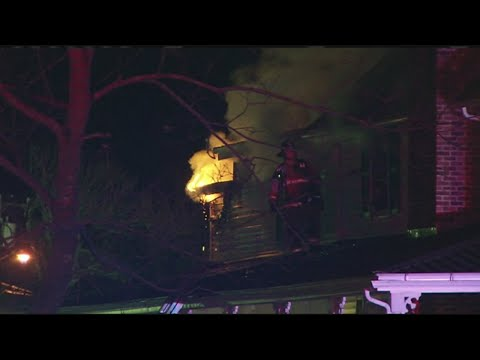 House fire on Suffield Street in Agawam