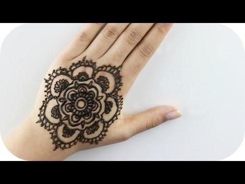 Henna Tutorial für Anfänger  - Blume #1 | Sanny Kaur
