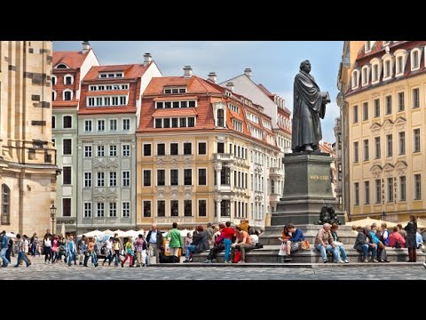 Germany's Dresden and Leipzig