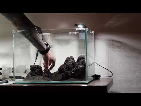 Aquascaping Dennerle scaper's tank 35L