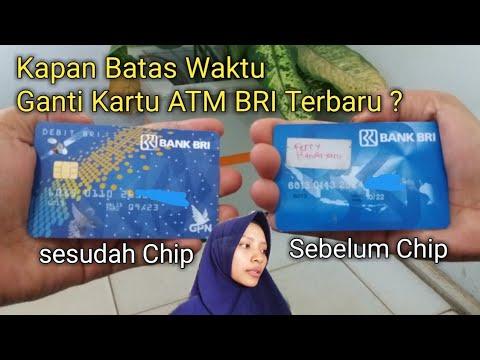 Batas Waktu Ganti Kartu ATM BRI ber-Chip