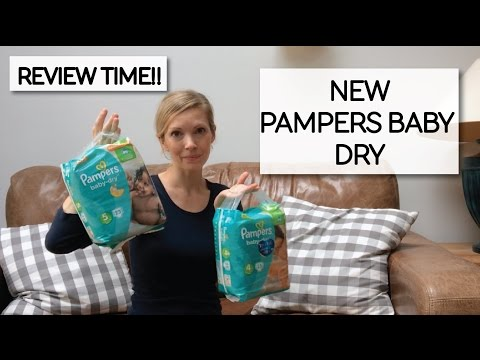 REVIEW!! NEW Pampers BABY DRY.....4 weeks of testing..what did we think??