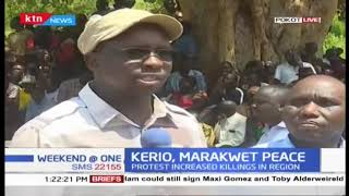 KERIO, MARAKWET PEACE: Residents hold peace meeting in Pokot