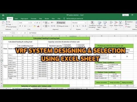 Vrf system working, vrf system designing &...