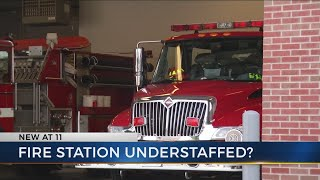 Staffing issues leave small fire department out of service