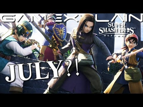 """Is Ultimate's DQ Hero DLC Coming This Month?! """"July"""" Trailer Suggests So! (Update: See Description)"""