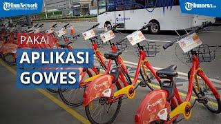 Cara Menggunakan Sepeda di Stasiun MRT Bundaran HI dengan Aplikasi GOWES
