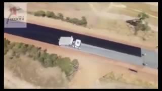 Amazing Australia Road  The Fastest Road Built Full Video