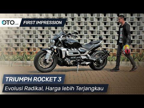 Triumph Rocket 3 | First Ride | Evolusi Radikal, Harga lebih Terjangkau | OTO.com