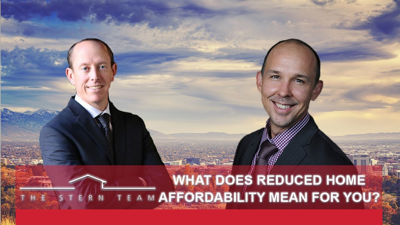 What Does Reduced Home Affordability Mean for You?