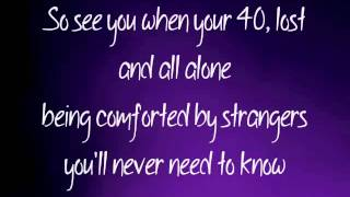 "Dido ""See You When You're 40"" lyrics"