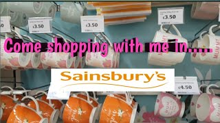 COME SHOPPING WITH ME IN SAINSBURYS | MOTHERS DAY | BEAUTY | HOMEWEAR| UK FAMILY VLOG