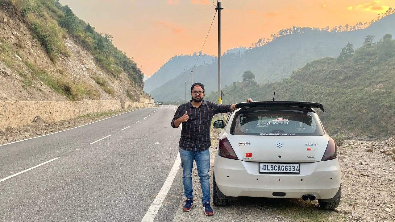 Taking My Swift For A Road Trip To Uttrakhand | Delhi-Haldwani-Nainital Road Trip | Modified Swift Screenshot Download