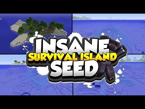 Survival Island Minecraft Thumbnail