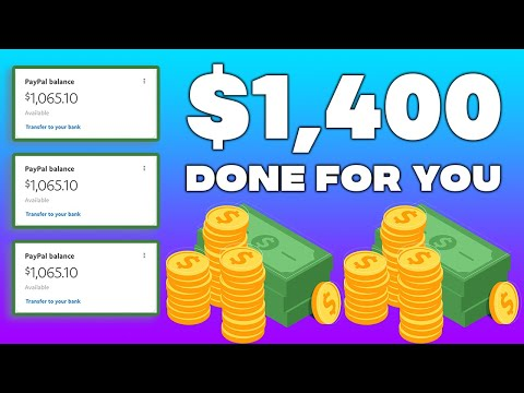 Get Paid $1,400 With This FREE BOT (Make Money Online)