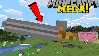Minecraft: MEGA WEAPONS!!! (LARGEST SWORD IN MINECRAFT!)