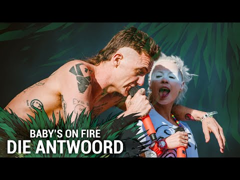 DIE ANTWOORD - Baby's On Fire (Live At Hurricane Festival 2015) (видео)