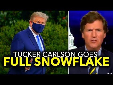 PC OUTRAGE: Tucker Carlson Offended at Reaction to Trump's COVID Diagnosis