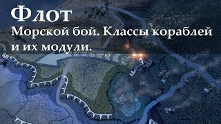 Флот в Hearts of Iron 4: механика морского боя, классы кораблей и их модули. (1.10.3)