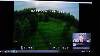 Fpv Onboard DVR(speedy bee) dancestyle martian 5 inch 6s