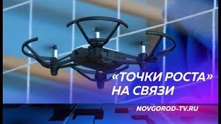 Десять «Точек роста» в сельских школах Новгородской области связал телемост