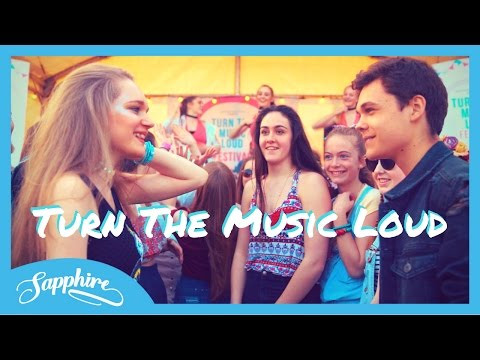 Sapphire - Turn The Music Loud [Official Video]