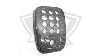 Carbon Fiber Rear Fog Light Cover for Ferrari 488 GTB and Spider
