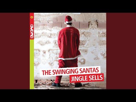 Jazzy Christmas online metal music video by THE SWINGING SANTAS