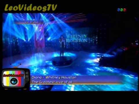 Diana Amarilla es Whitney Houston en  Tu Cara me suena 3 #GH2015 #GranHermano