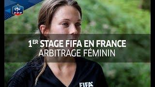 Arbitrage féminin : 1er stage FIFA en France