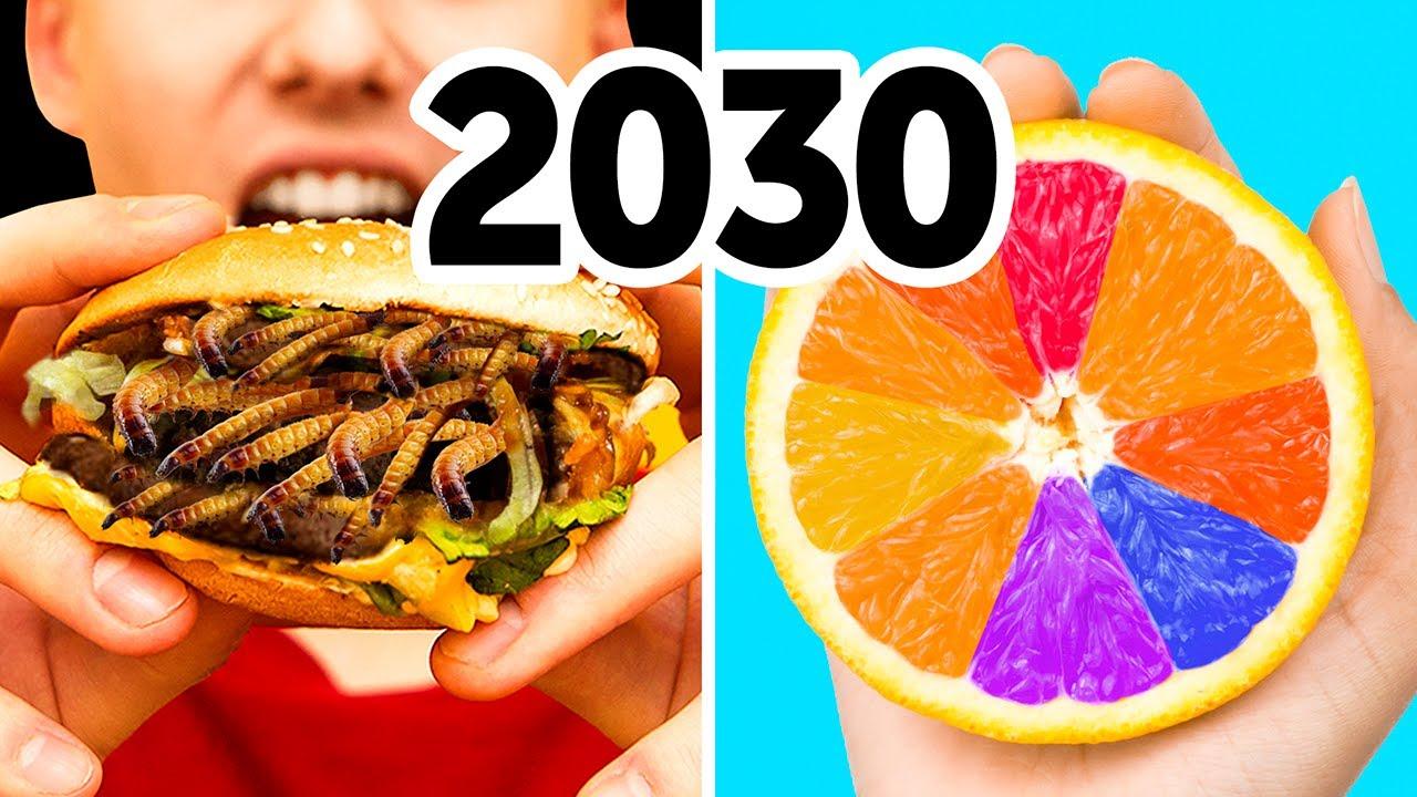 Будущее продуктов: что мы будем есть в 2030 году?