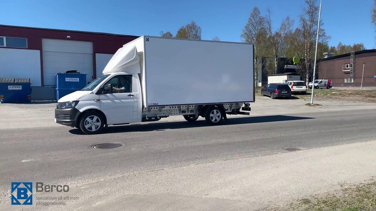 Leverans till Norrlands Bil AB av två T6 AL-KO