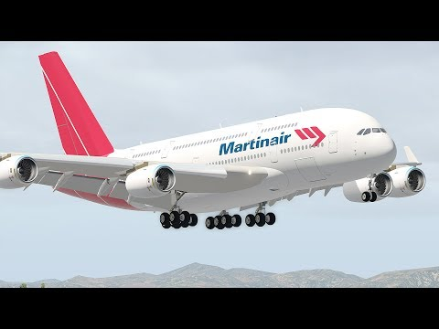 Landing The A380 With Broken Arm | X-Plane 11